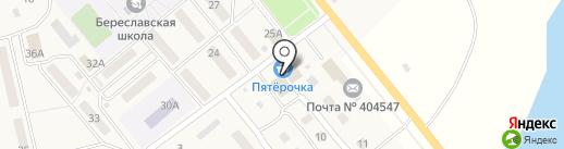 Ермолино на карте Береславки
