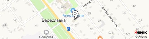 Сбербанк, ПАО на карте Береславки