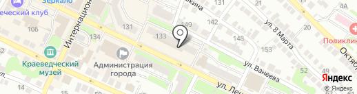 Калинка на карте Бора