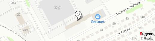 БорСтройЛес на карте Бора