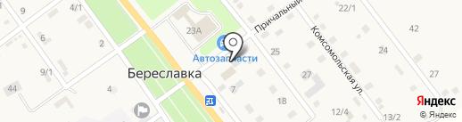 Библиотека на карте Береславки