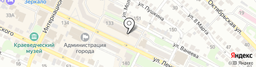 Тинейджер на карте Бора