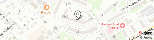 Баррикада на карте Бора