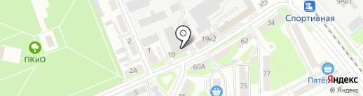 Техносоюзсервис на карте Бора