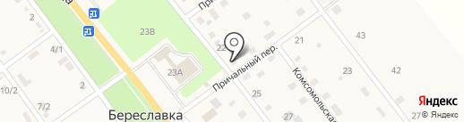 Магазин автотоваров на карте Береславки