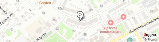 Uniprint на карте Бора