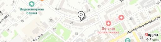 ПланетА на карте Бора
