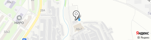 ТСК БАРС на карте Нижнего Новгорода