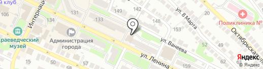 Массажный кабинет на карте Бора