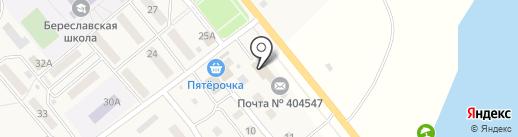 Универмаг на карте Береславки