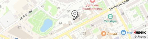 Сплит на карте Бора