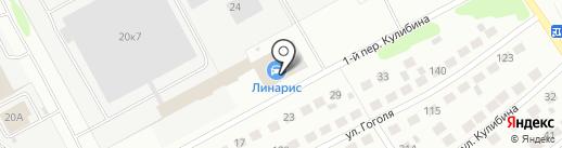 Кварц на карте Бора