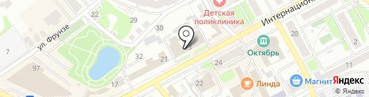 Росмонтаж-НН на карте Бора