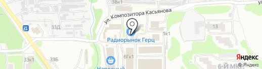 Магазин дверей на карте Нижнего Новгорода