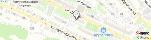 Общественная приемная председателя политической партии Единая Россия Д.А. Медведева по Нижегородской области на карте Бора