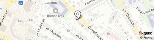 Студия красоты Натальи Кузнецовой на карте Бора