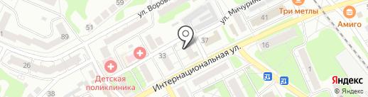 Студия Навигатор на карте Бора