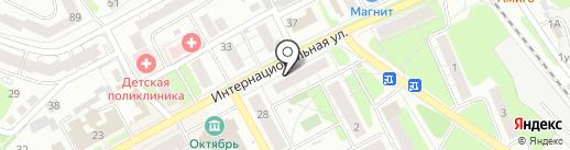 Трикотажный магазин на карте Бора