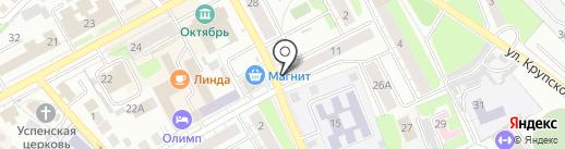 Борское районное потребительское общество на карте Бора