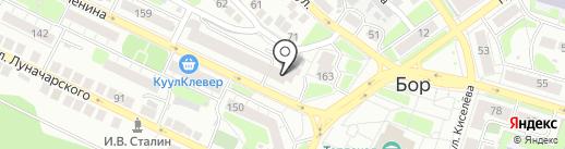 Школа-студия Елены Пономаревой на карте Бора