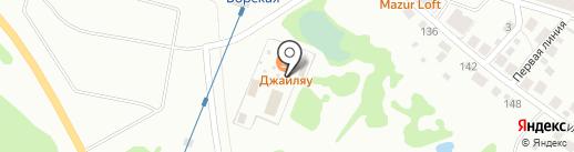 Джайляу на карте Бора