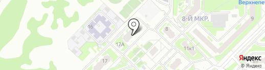 Cuatro на карте Нижнего Новгорода