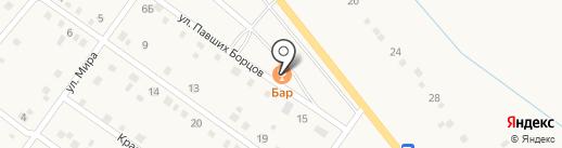 У дороги на карте Береславки