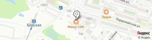PROGress на карте Бора