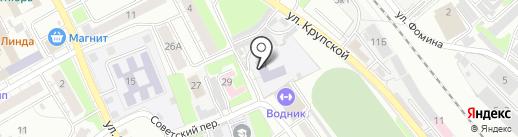 Детский сад №24 на карте Бора