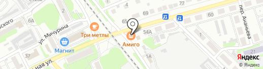 Мак дак на карте Бора