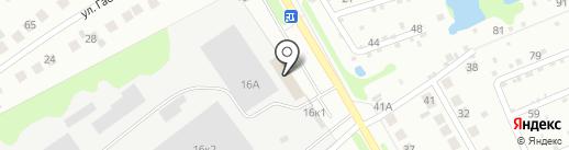 БорСтройМеталл на карте Бора