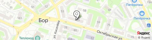 Максавит на карте Бора