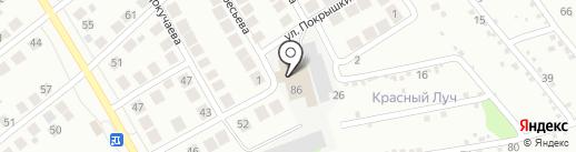 2В на карте Бора