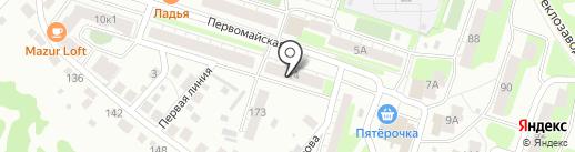НУГА БЕСТ на карте Бора