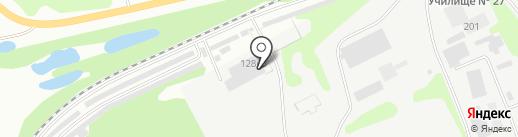 Мастерская кузовного ремонта на карте Бора