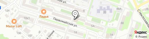 Почтовое отделение №7 на карте Бора