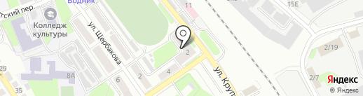 Отдел судебных приставов по Борскому району на карте Бора