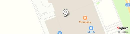 Чемодановка на карте Федяково