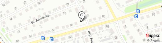 Стеклодоставка на карте Бора