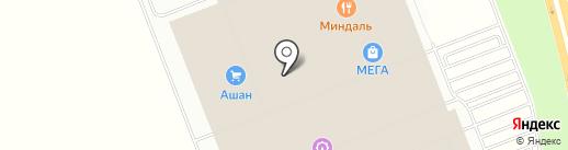 Евросеть на карте Федяково