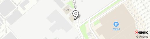 Пятница на карте Нижнего Новгорода