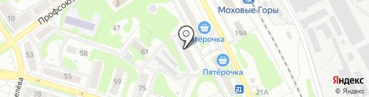 Магазин ковров на карте Бора