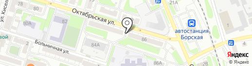Адвокатский кабинет Балабановой А.Н. на карте Бора