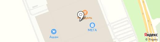 Каркас-Монолит на карте Федяково