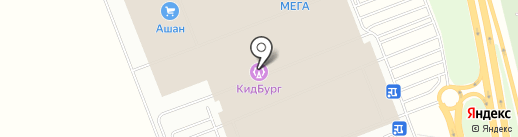 КидБург на карте Федяково