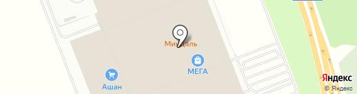 Веселая расческа на карте Федяково