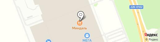 Суши-Маркет на карте Федяково