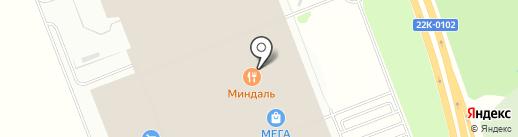 Миндаль на карте Федяково