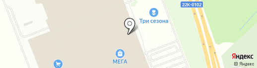 Элекснет на карте Федяково