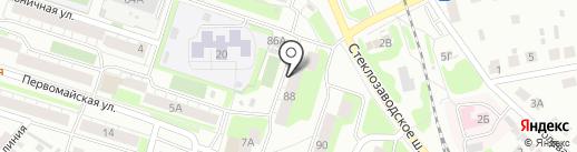 Хмельник на карте Бора